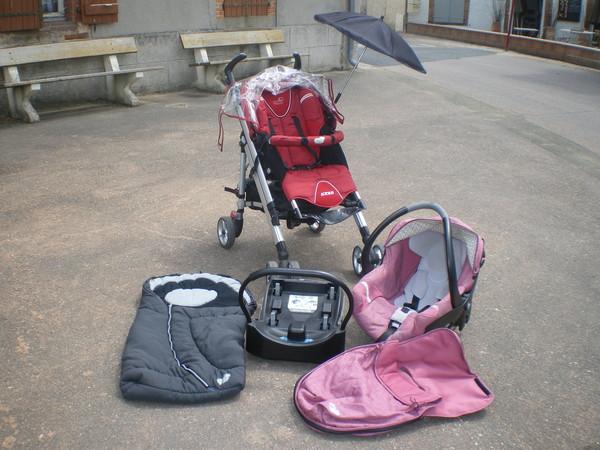 chanceliere pour poussette bebe confort elea. Black Bedroom Furniture Sets. Home Design Ideas